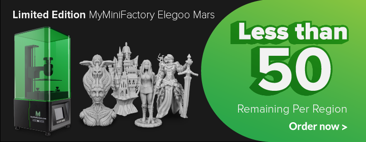 Elegoo Mars 3D Printer Limited Edition